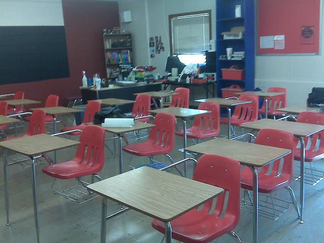Classroom. (Photo by Bryan McDonald)